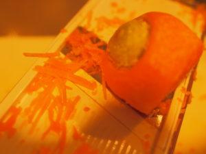 野菜の冷凍保存・先取りパーツ化(人参をスライサーですりおろす2)